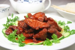 Chinese Spicy Sauteed Beef