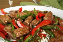 Chinese beef recipes cooking beef and lamb chinese style chinese stirfry pepper steak forumfinder Choice Image