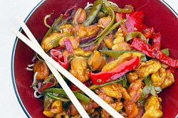 Stir-Fried Lemon Chicken