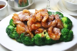 Szechuan Shrimp with Broccoli